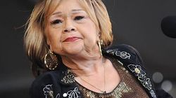 Etta James, la célèbre chanteuse de blues, a rendu