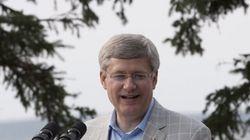 Stephen Harper visite un nouveau parc national dans le Grand