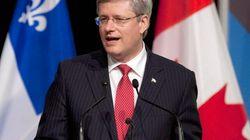 Harper interrompu en plein
