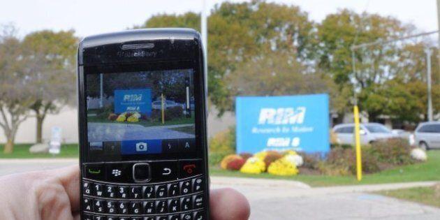 L'action de RIM, le fabricant du BlackBerry, en chute libre à la Bourse de
