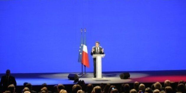 Sarkozy à Marseille: le candidat du