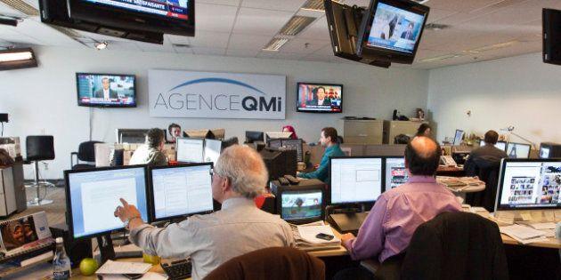 L'agence QMI offre des bulletins d'information