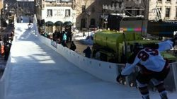 Un Crashed Ice au-dessus de zéro