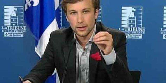 Gabriel Nadeau-Dubois plaide non coupable à une accusation d'outrage au