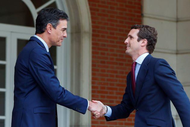 Casado pide a Sánchez que no dependa del independentismo y apunta a