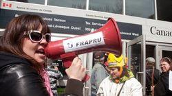 FRAPRU: une manifestation pour dénoncer la fin des subventions
