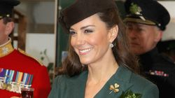 Kate Middleton rend hommage aux gardes