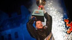 Kyle Croxall remporte pour la première fois le titre de champion du monde Red Bull Crashed Ice