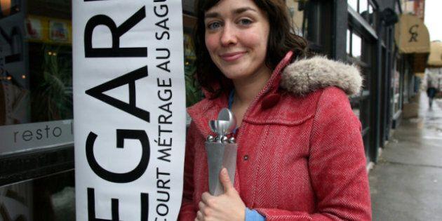 Festival Regard sur le court métrage au Saguenay: Sophie Goyette remporte le Grand Prix