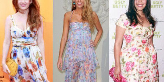 Les stars en robes soleil: une robe d'été à magasiner... à chacune sa forme et son style