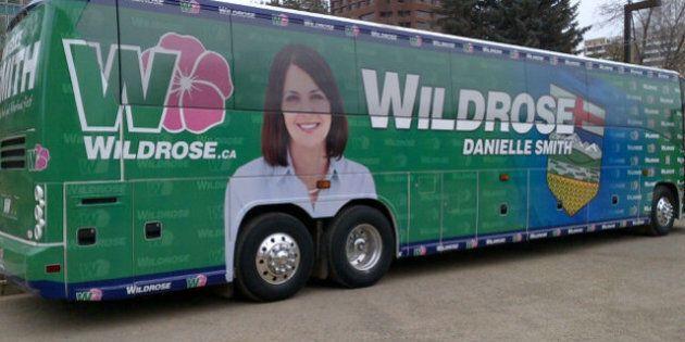 Alberta: l'autobus du Wildrose suscite la risée