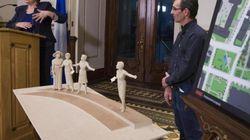 Un premier monument en hommage aux femmes en politique à