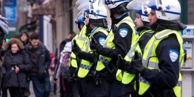 Autre marche contre la brutalité policière: le SPVM demande de la