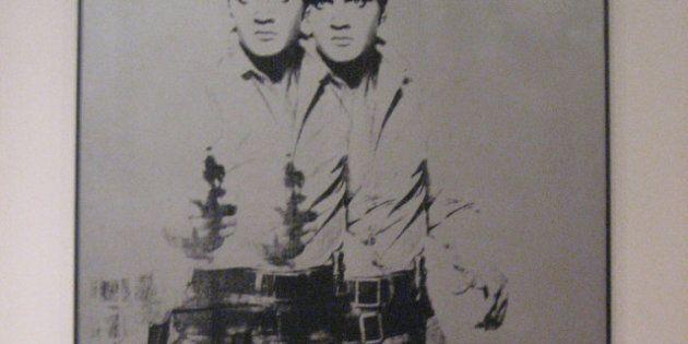 Un portrait d'Elvis peint par Andy Warhol pourrait être vendu 50