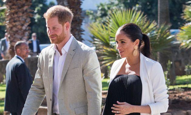 Le prince Harry et Meghan Markle en février dernier, lors de leur visite au