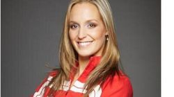 Valérie Welsh, membre de l'équipe canadienne de nage