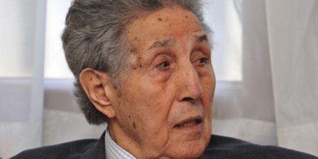Ahmed Ben Bella, le premier président de l'Algérie indépendante, est