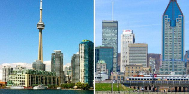 Quitter « Montréal la festive » pour « Toronto la prude