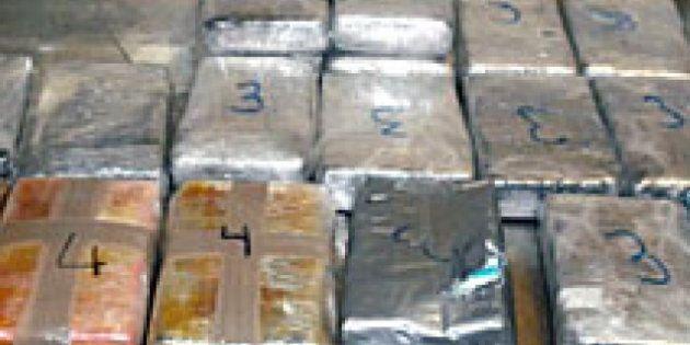 Saisie de 43 tonnes de haschisch destiné au marché