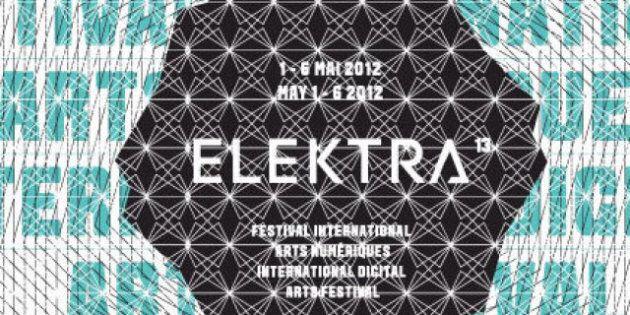Elektra 13: la programmation du festival international d'arts numériques qui aura lieu à Montréal, du...