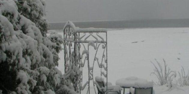 Météo: Jusqu'à 40 cm de neige sur le
