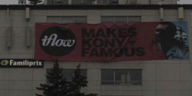 Kony 2012: Montréal se fait recouvrir par