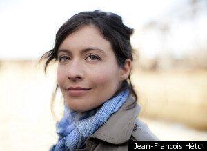 Portrait de femme: Eveline Mailhot,