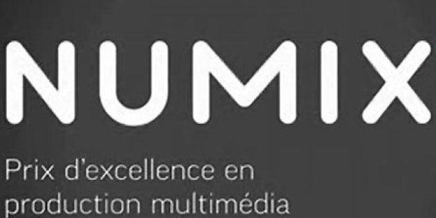 Multimédia: les finalistes aux prix Numix 2012 sont