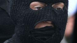 Les masques interdits dans les