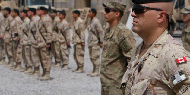 Forces canadiennes: le nombre de suicides a augmenté en