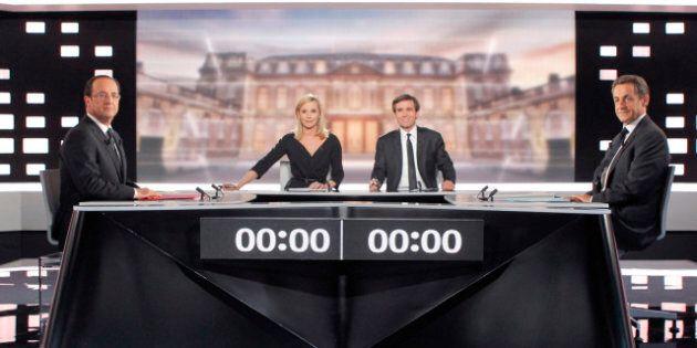 Élection présidentielle en France: débat télévisé très violent entre Sarkozy et