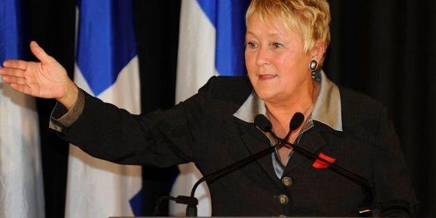 Grève étudiante: Pauline Marois met en garde les Québécois contre les