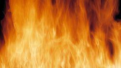 Violent incendie à