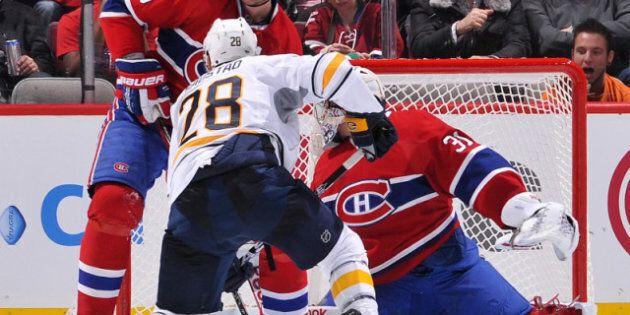 Le Canadien s'incline 3-1 contre les Sabres malgré le brio de Cole et