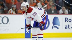 Jeff Petry ne sera pas de la rencontre face au