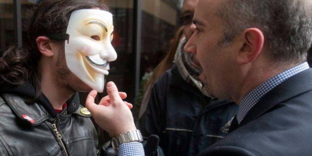 Manifs masquées: le maire accélère l'adoption des nouvelles