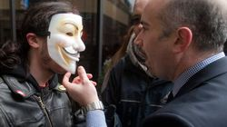 Manifs masquées: le règlement adopté dans une
