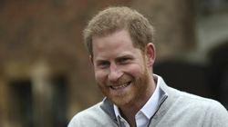 Prince Harry Can't Contain His Joy As He Speaks To Cameras About Baby