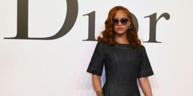 Rihanna: magnifique au défilé Dior automne 2015 à