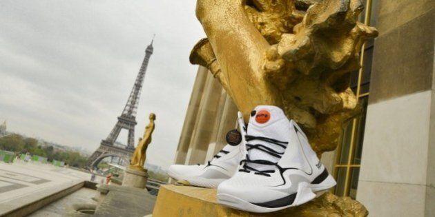 Publicité sauvage ? Reebok chausse les statues de Paris pour les 25 ans de la «Pump»