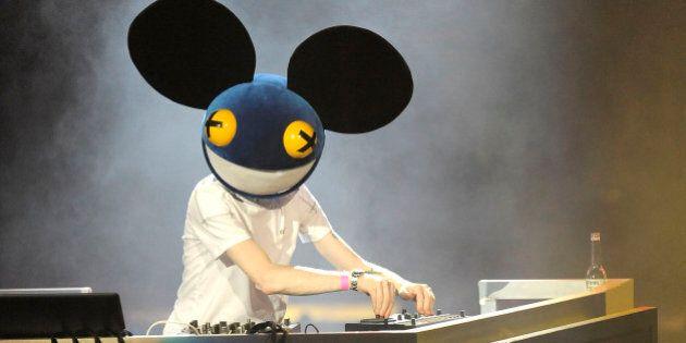 Le DJ canadien Deadmau5 fait la couverture du magazine Rolling