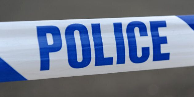 Police tape on Bristol Road, Birmingham as two men are being treated in hospital after suffering stab...