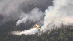 Les feux de forêt font rage au Québec et en