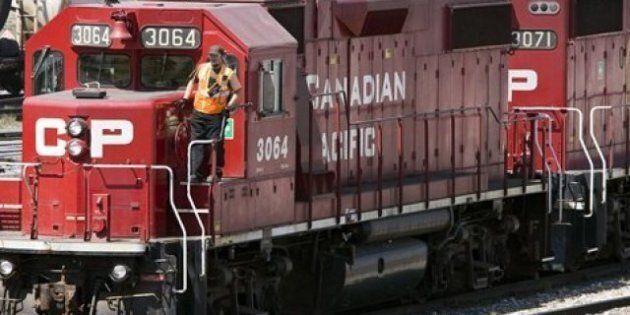 Canadien Pacifique : avis de grève de 72