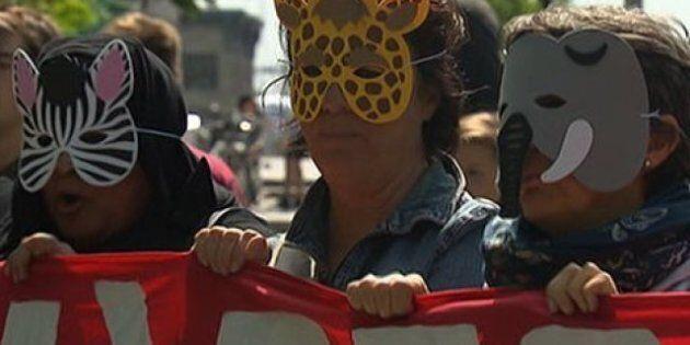 Montréal : le règlement antimasque est