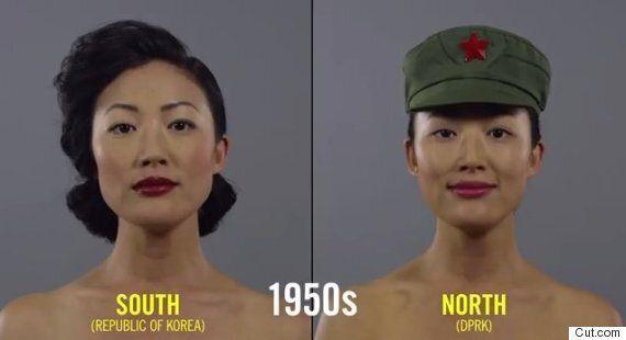 100 ans de beauté en une minute, version Corée