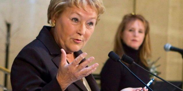 Pauline Marois entame sa mission européenne à Davos en