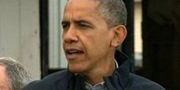 Barack Obama rend visite aux sinistrés de Sandy à New