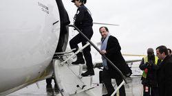 L'avion de Hollande fait demi-tour à cause de la