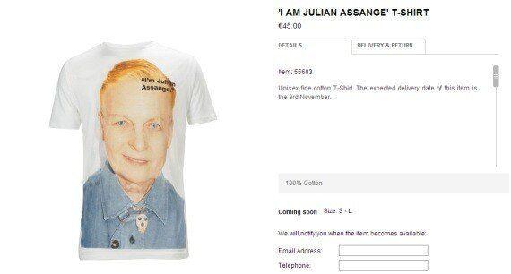 Wikileaks: la créatrice Vivienne Westwood va vendre des chandails en soutien à Julian Assange